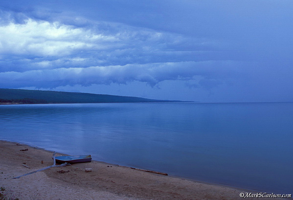 Storm over Great Sand Bay; ©markscarlson.com