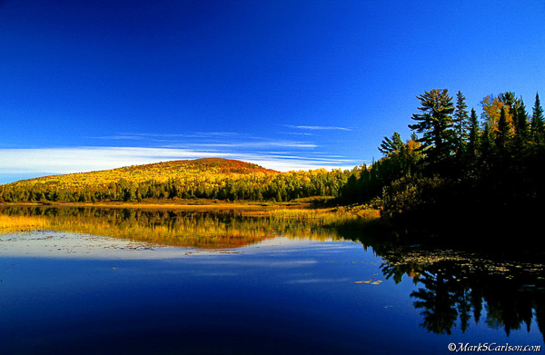 Lily Lake, autumn; ©markscarlson.com