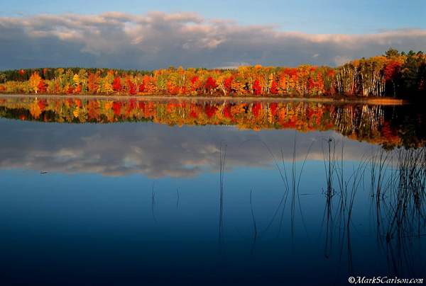 Thorton Lake, autumn; ©markscarlson.com