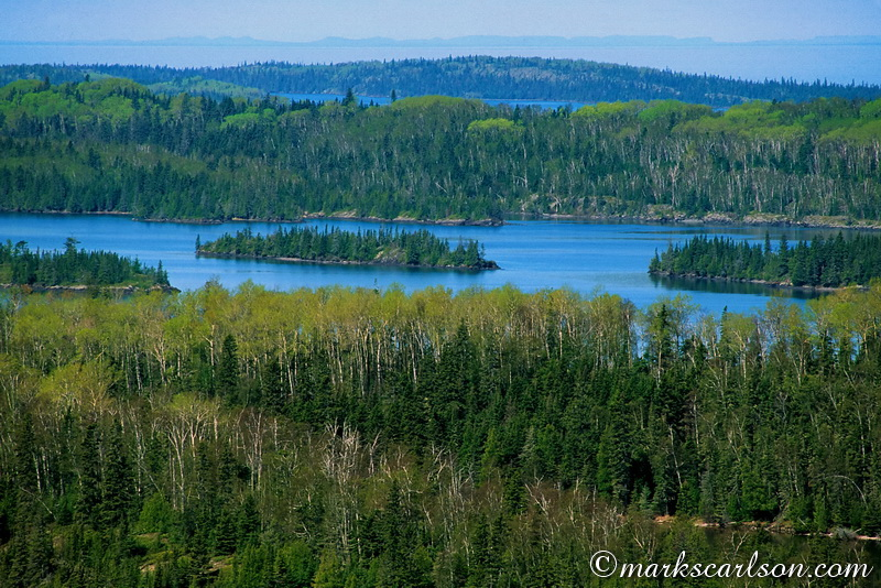 IRNP003-Boreal forests and harbors, Isle Royale, spring ©markscarlson.com