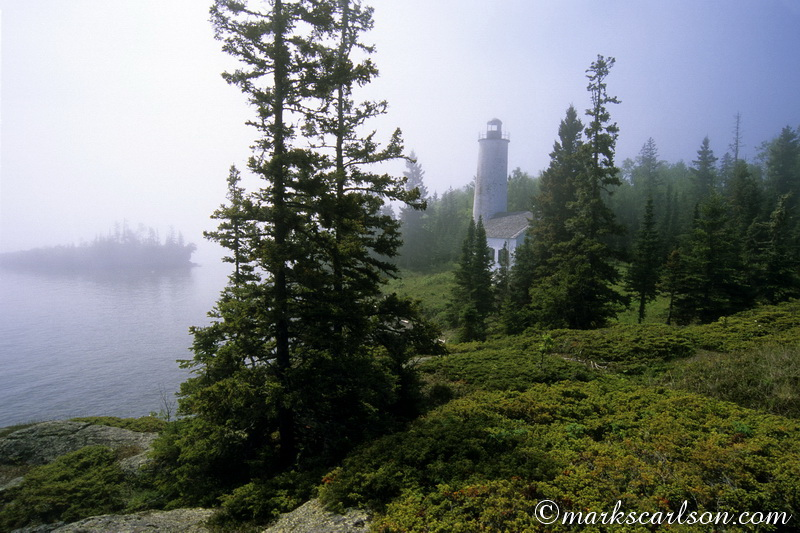 IRNP022-Rock Harbor Lighthouse, Isle Royale ©markscarlson.com