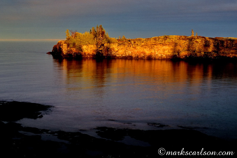 IRNP025-Scoville point, sunset light ©markscarlson.com