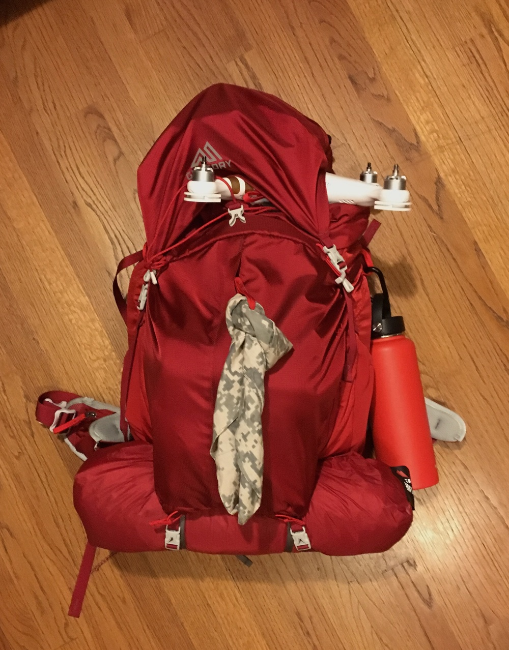 Gregory Backpack. I'm ready to hike Havasupai Arizona. Copyright Hobo.Life