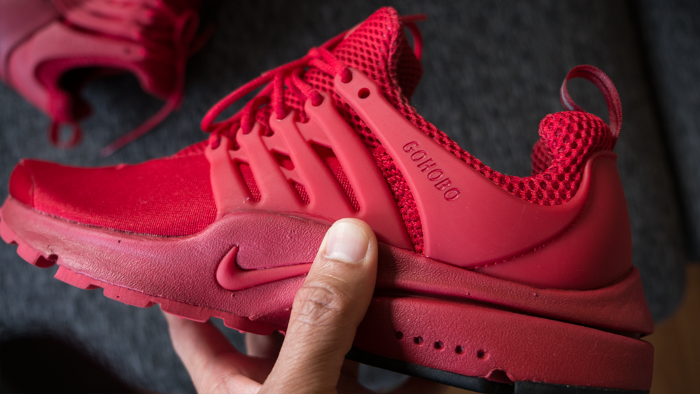 Hobo Life Nike Presto Red October OG Side