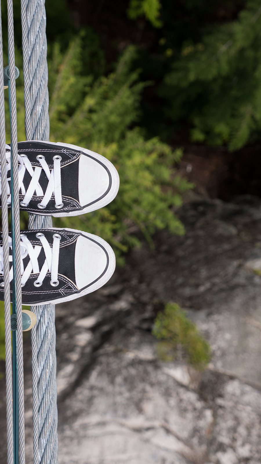 Hoang M Nguyen Chuck Taylors at Sea To Sky Gondola BC Canada. Copyright Hobo.Life