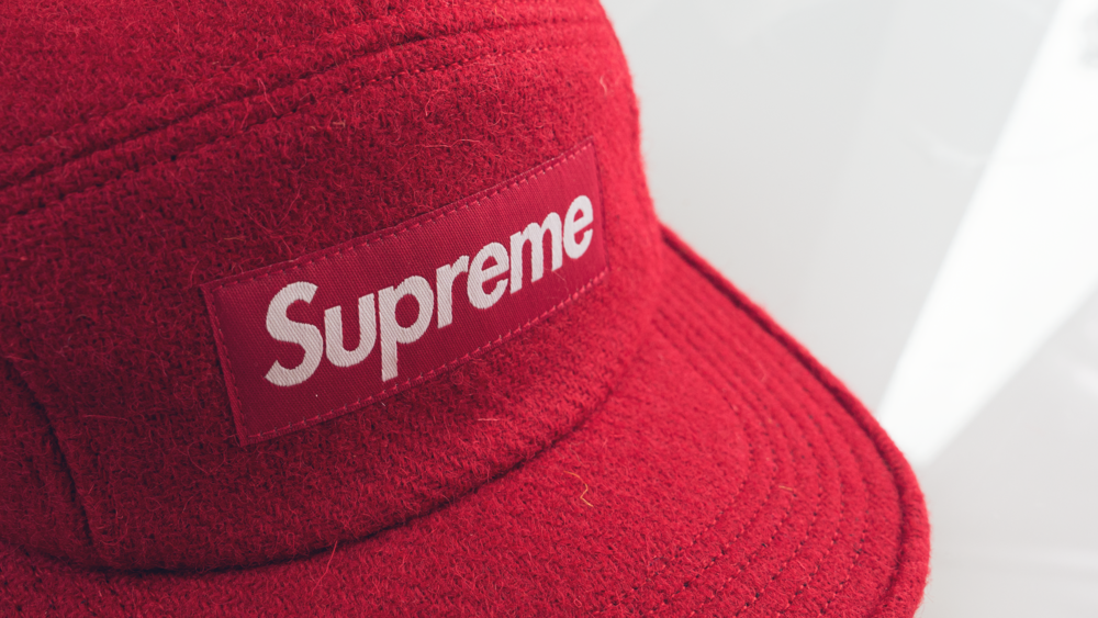 featherweight wool camp supreme cap red. photo of hobo.life