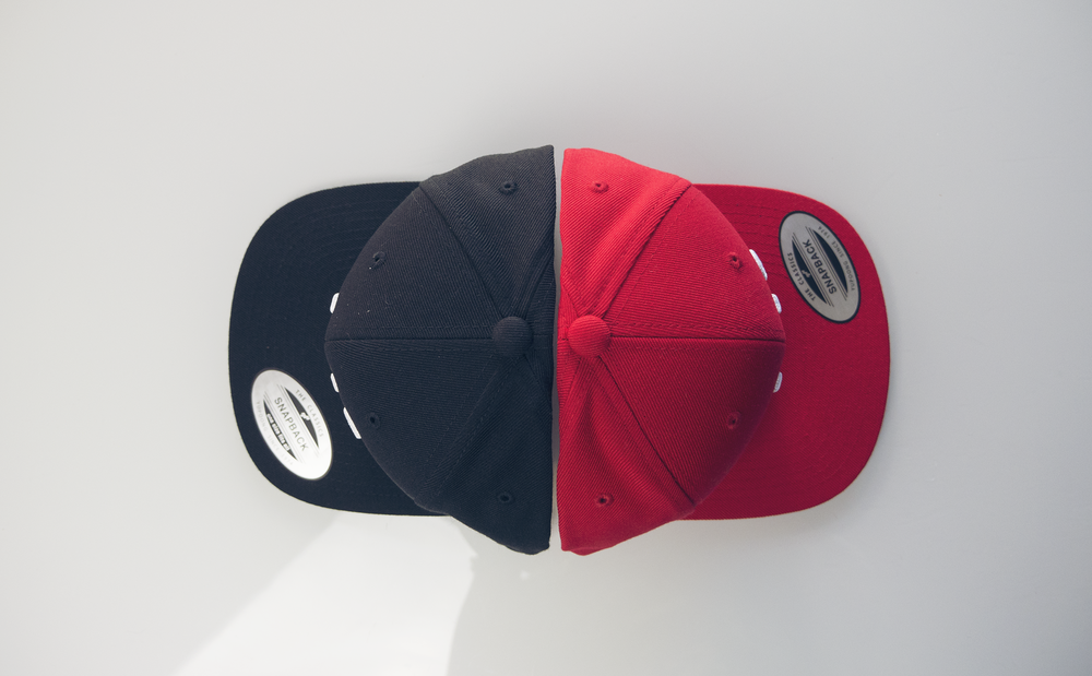 The Black and Red colorway Hobo Hat. #hoboworld