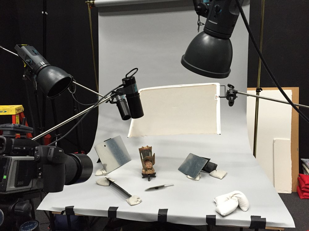 BTS: Collections photography for The Nelson-Atkins Museum of Art
