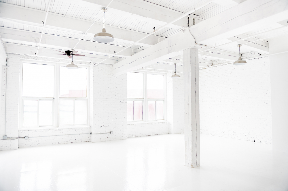 The Studio - Lauren's studio is conveniently located just outside downtown Kansas City in the historic West Bottoms warehouse district
