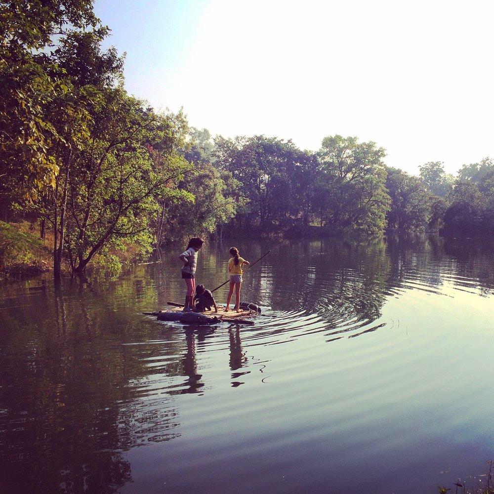The raft.