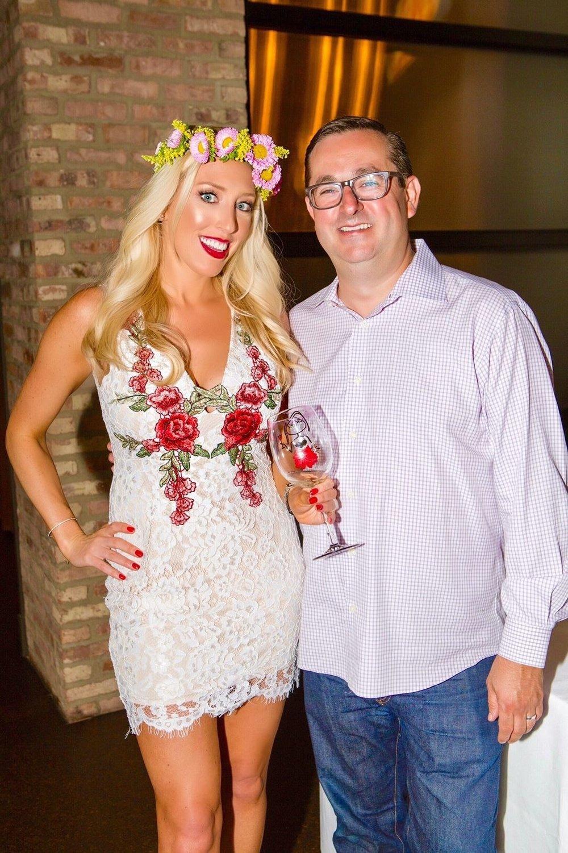 Jessica Altieri Wine Channel TV CEO and Todd Stein Executive Chef Formento's