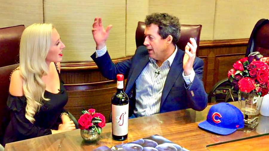 Jessica Altieri - Wine Channel TV and Peter Gago - Penfolds