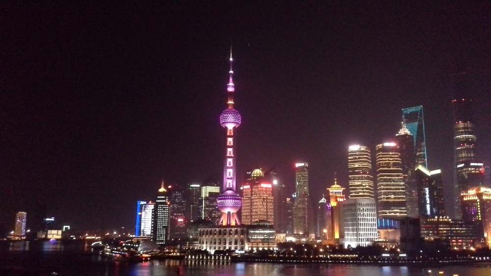 The Huangpu River has its own unique .. sometimes subtle sounds to be heard beneath the urban din