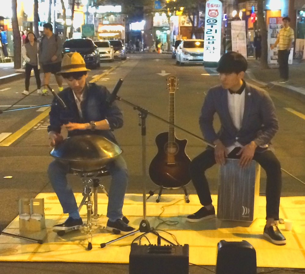 Hand Pan Street Buskers
