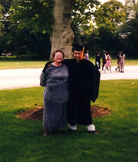 Proud Mother & Son, Central High School Graduation, 1997
