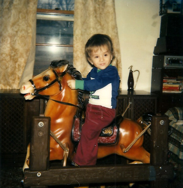 Me in Maryland, early 1980's