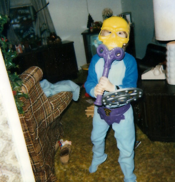 I was one cool little Skeletor