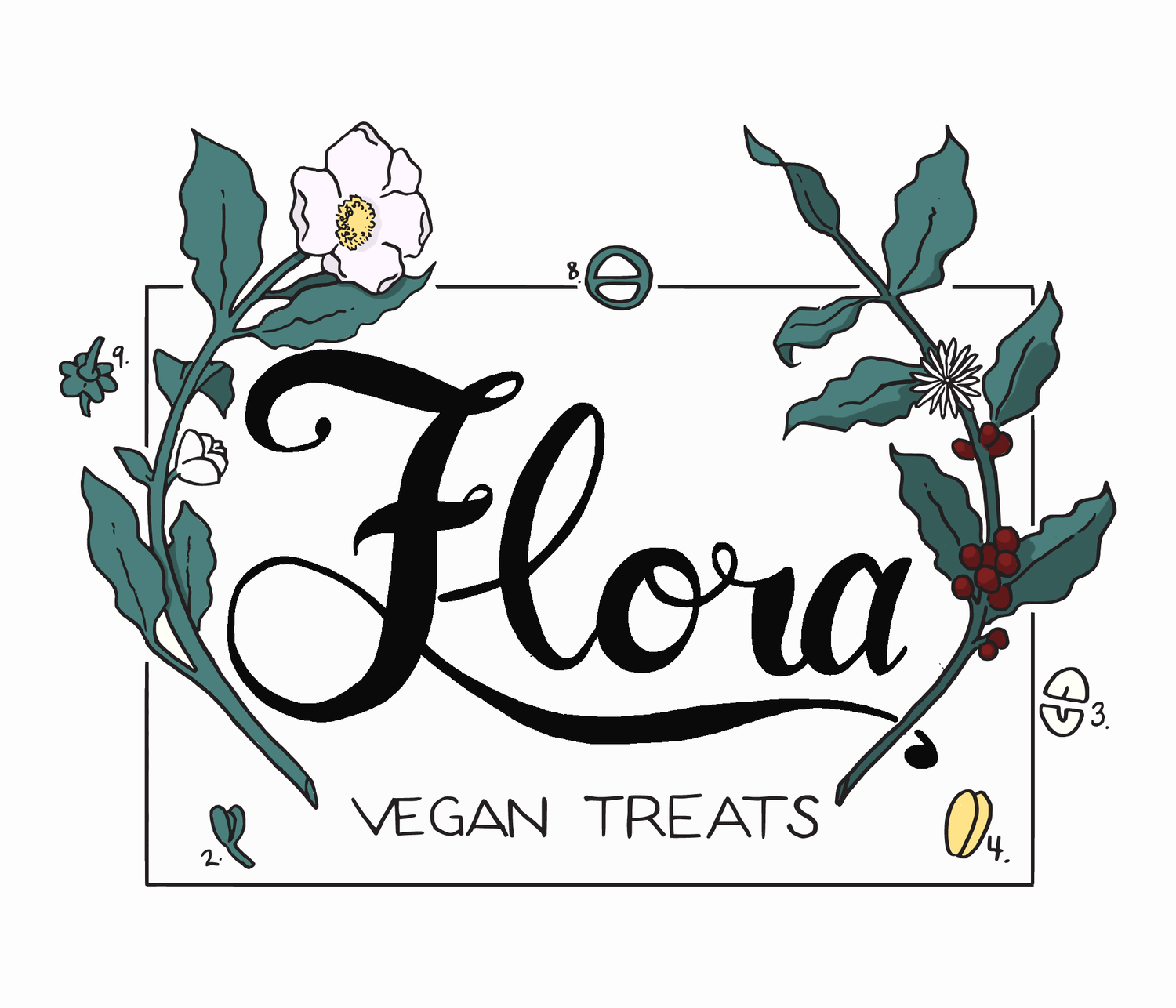 Flora Coffee and Tea - Vegan Treats