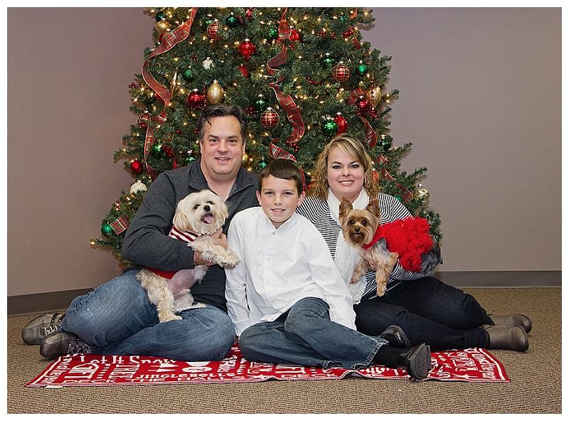 Wichita Christmas Family Portraits 2