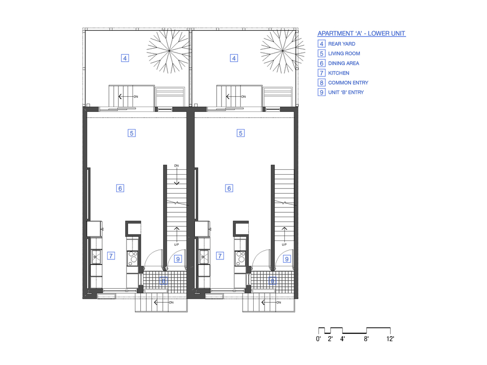 1st Floor - Unit 'A'