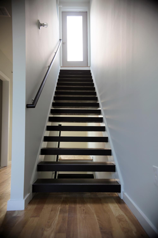 Custom Open Tread Stairs
