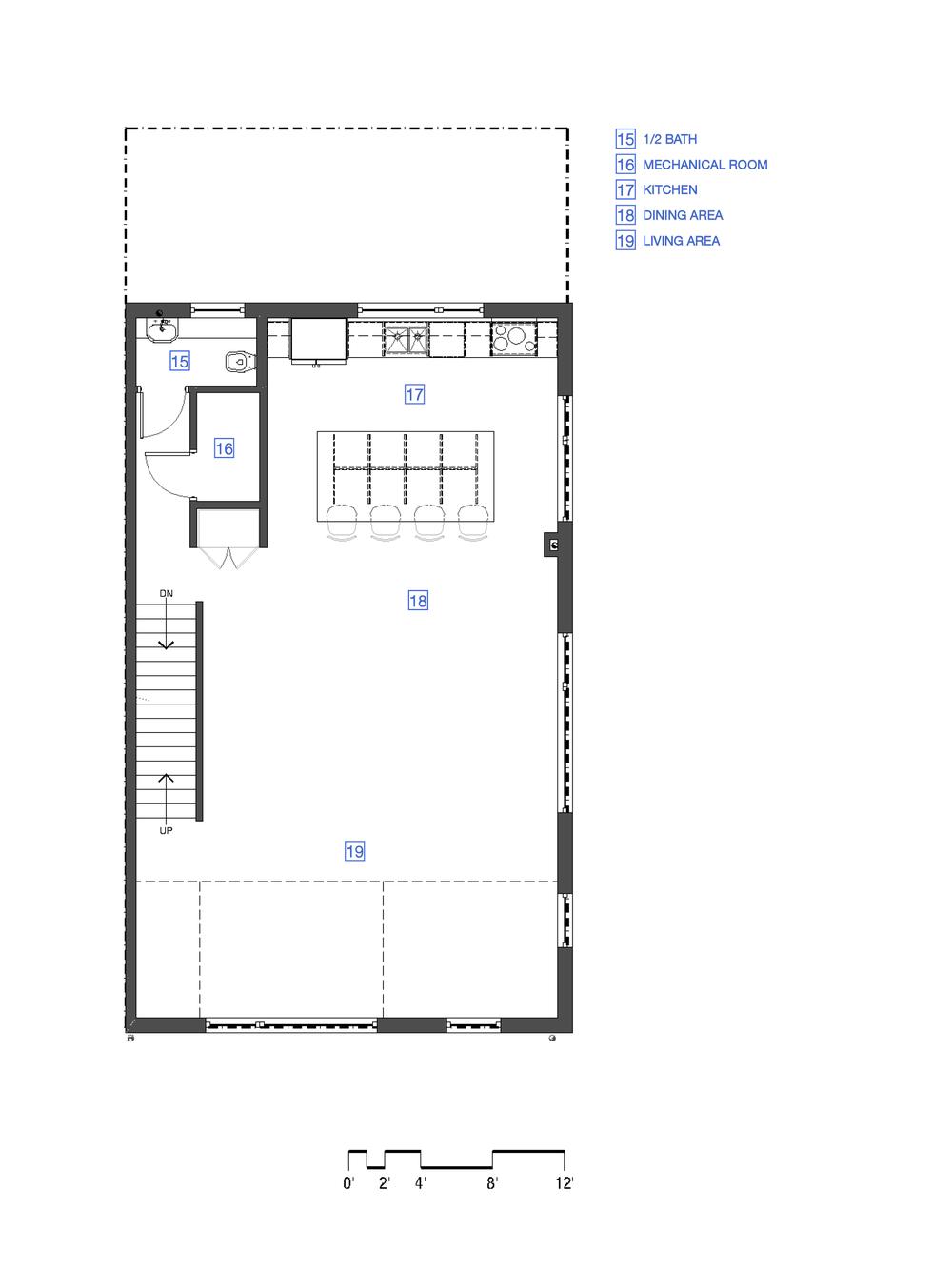 2nd Floor - Unit 'B'