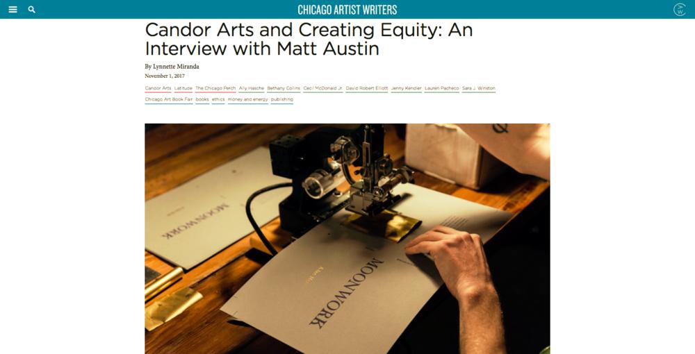 Interview with director Matt Austin with Lynnette Miranada.