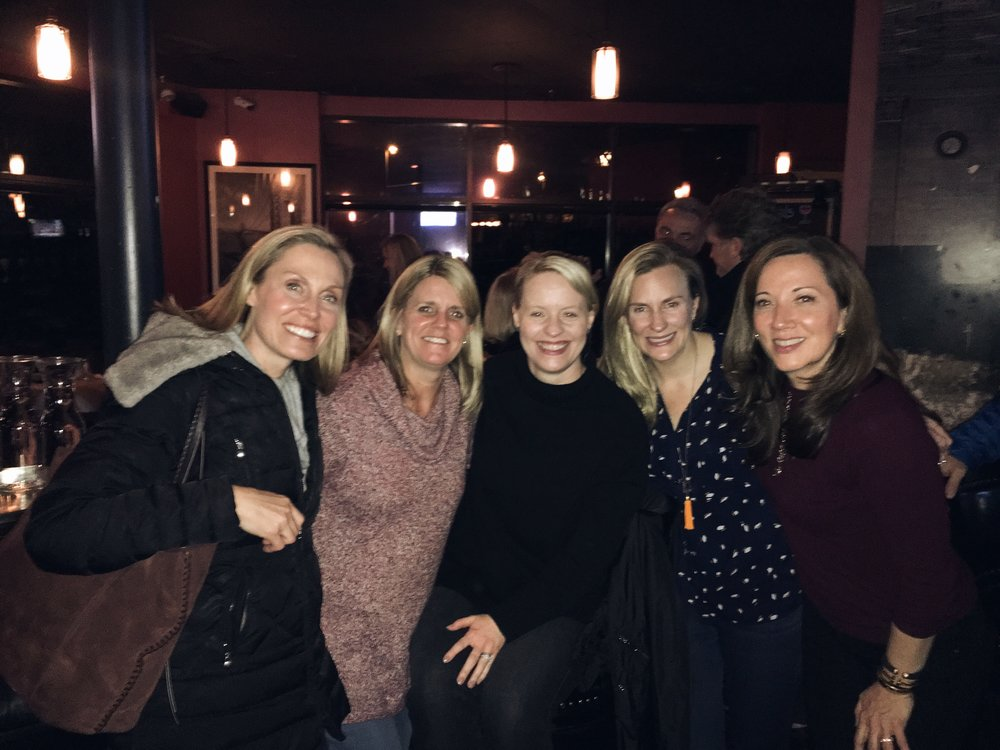 Friends joining us at our 8th Annual Girls' & Guys' Night Out - An event committed to raising funds for SADS, in loving memory of my niece, Rebecca Righeimer. We were thrilled to have raised over $2,000 this year!