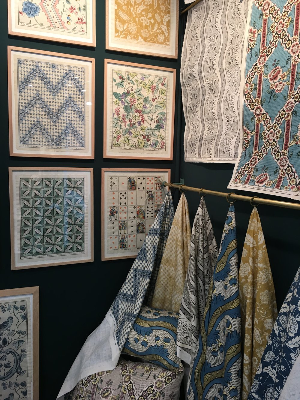 Maison et Objet: Patterns from Antoinette Poisson - Beautiful enough to frame.