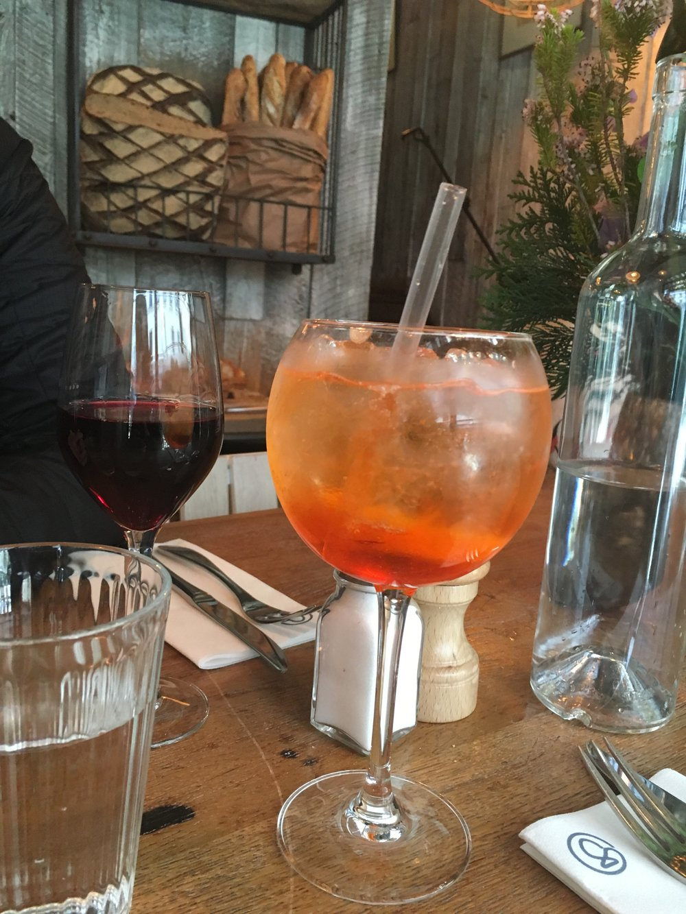 Are you really in Europe if you don't enjoy an Aperol Spritz?