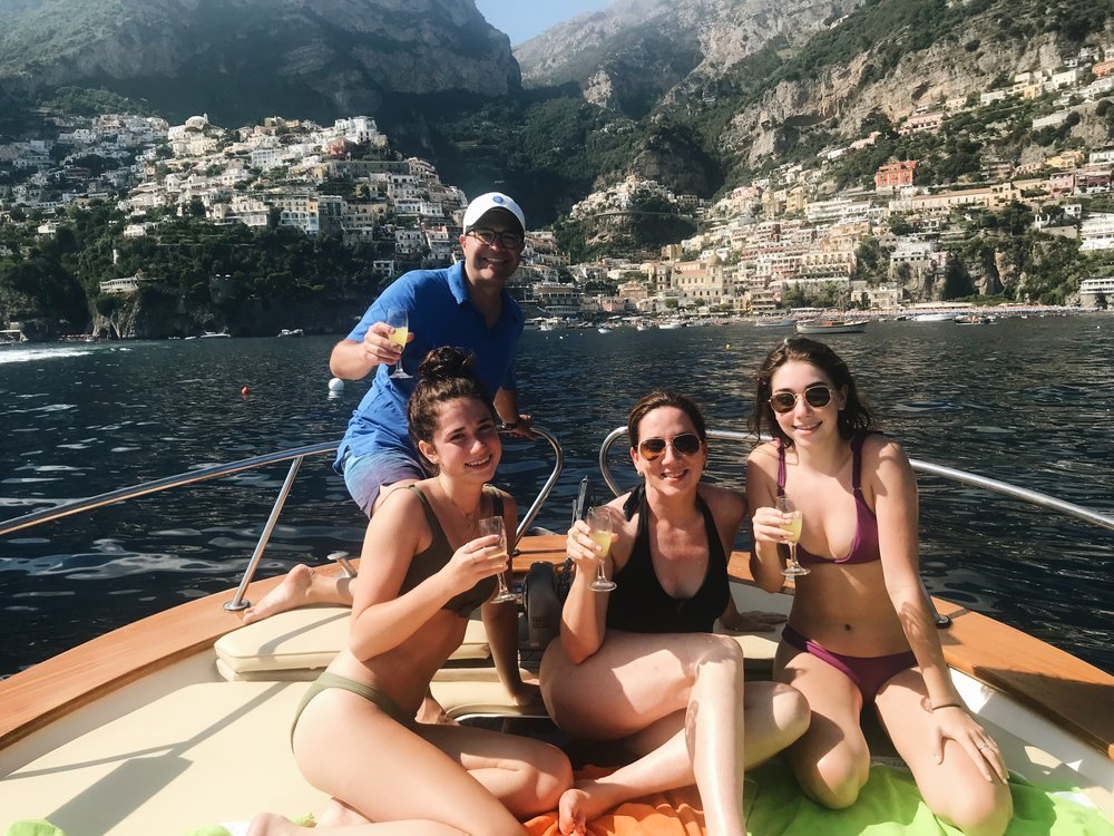 The Amalfi Coast keeps calling us back - Cheers!