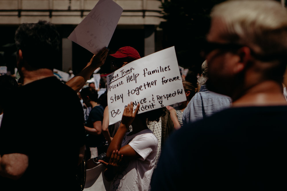 Boston Protest of Immigration Policy