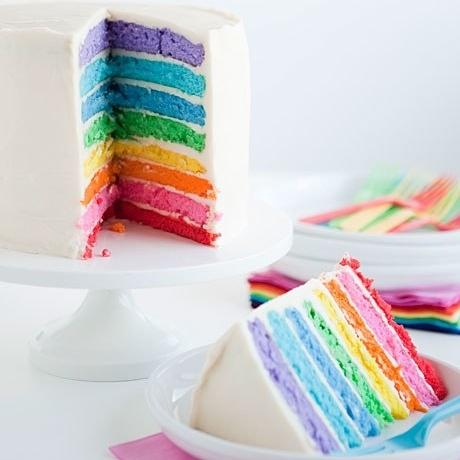 Hidden Rainbow Cake