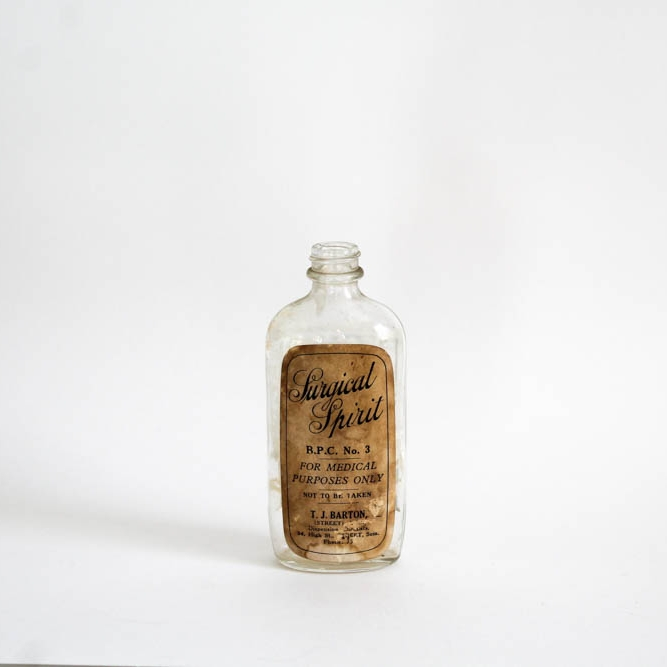 Antique Bottles - A good option for a vessel for flowers, or simply for display on their own. Think green or clear glass, and some old labels are a bonus.