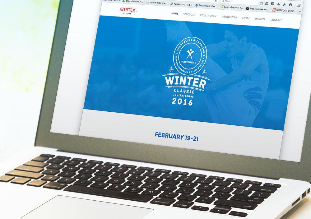 Logo as it Appears on the Website, Website Design by Kevin Kretschmer