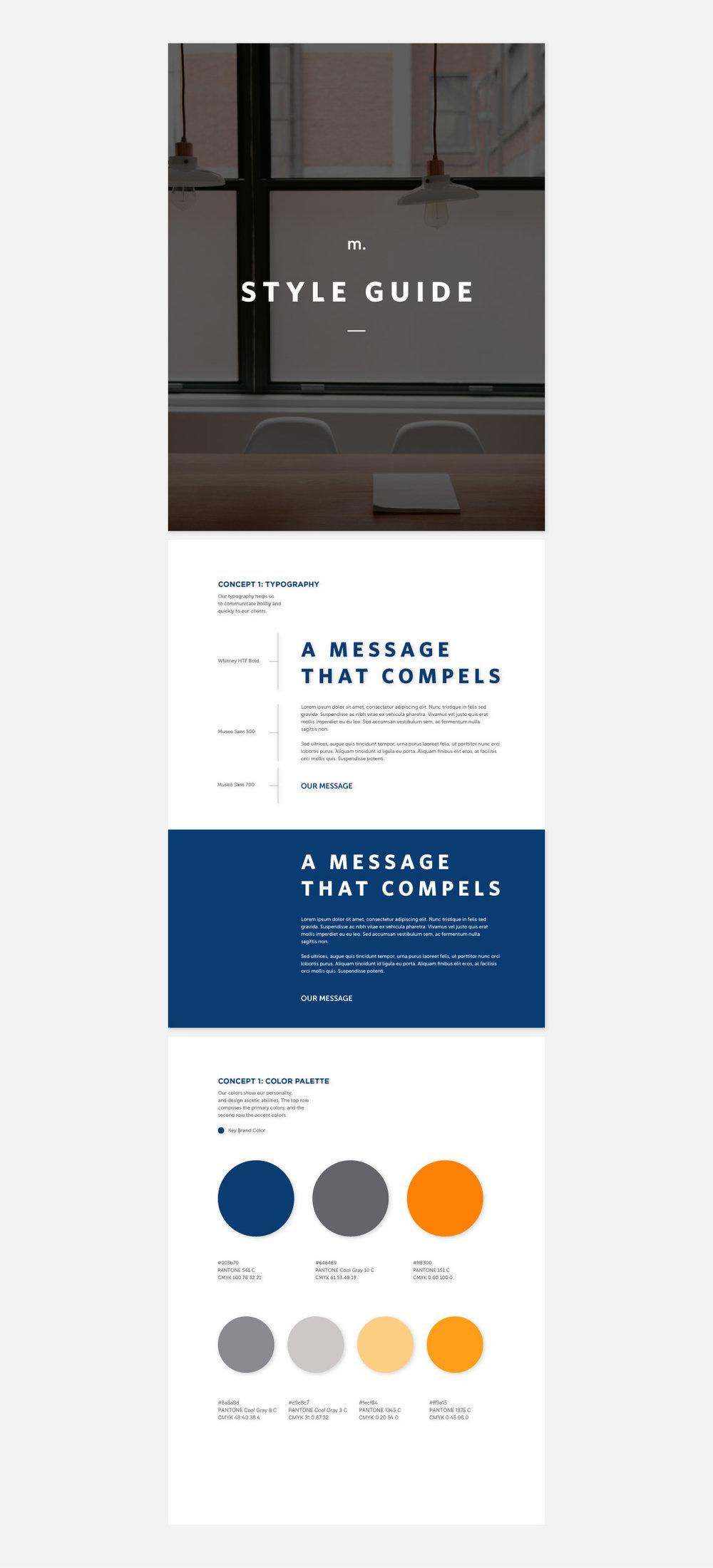 Style Guide Design