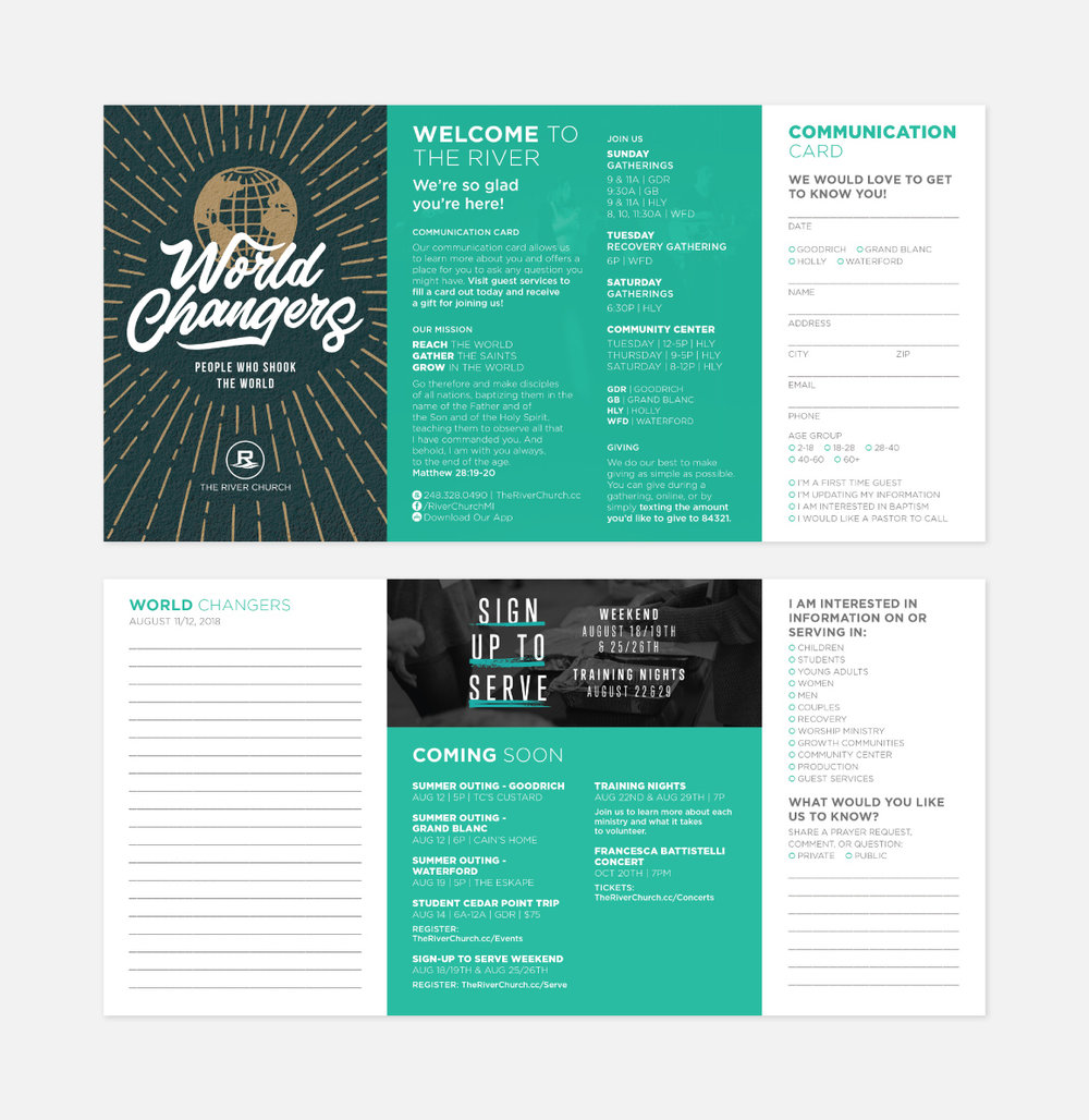 Gathering Notes Redesign