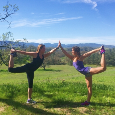 Beautiful hiking, picture-taking, dancing yogi opportunities.