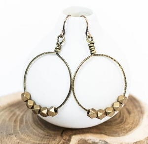 Len Collective - the most beautifully curated boutique in San Luis Obispo. Shannon's eye is elegant, contemporary, and soulful. Not only does she make beautiful jewelry, but she also connects the community in service projects. She had me at these earrings!