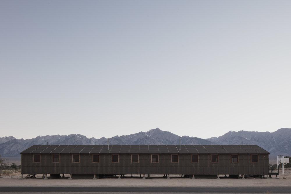 Image title:    New Home #01    (Manzanar, CA)