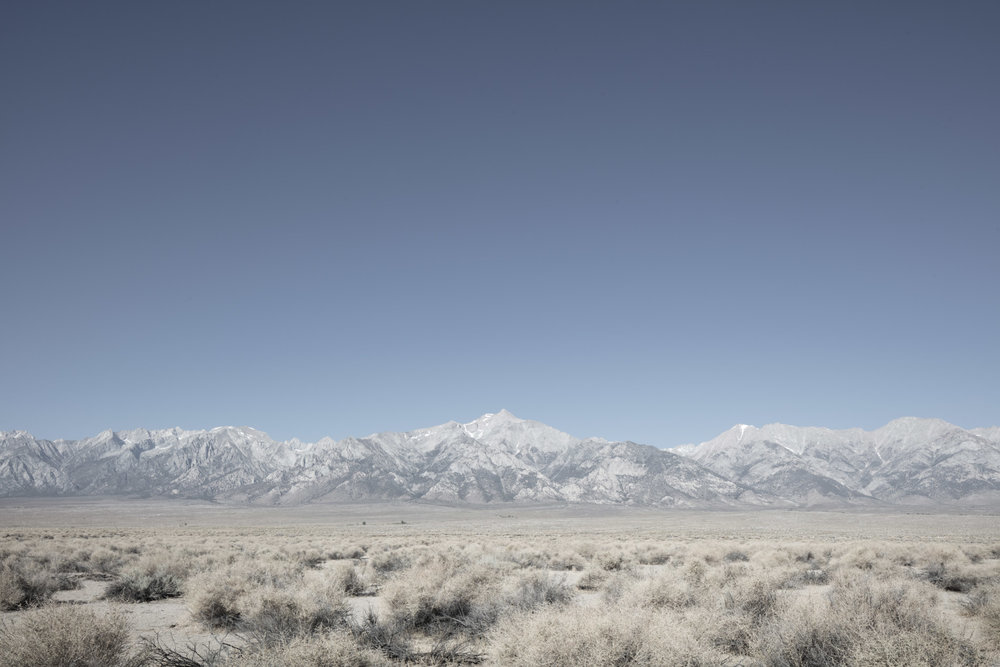 Title:      The landscape they saw      upon arrival #01      (Manzanar, California)