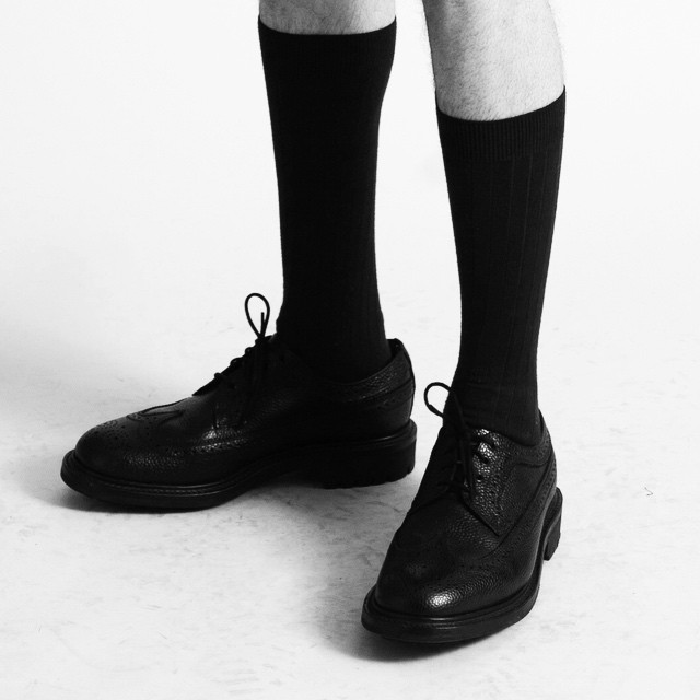 Sexy Black Dress Socks // #WILLYCHAVARRIA #cotton #nylon #MensNylonDressSocks #NewYorkWilly available @palmertrading #SockFetish #arenahomme #luomovogue #Spring #mensfashions  (at Palmer Trading Company)