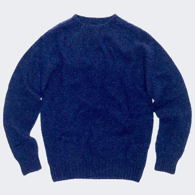 MIDNIGHT MARINE :: #PalmerTrading #SS15 #ShetlandWool #MadeInIteland # (at Palmer Trading Company)