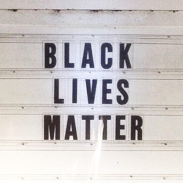 Lives Matter (at Palmer Trading Company)