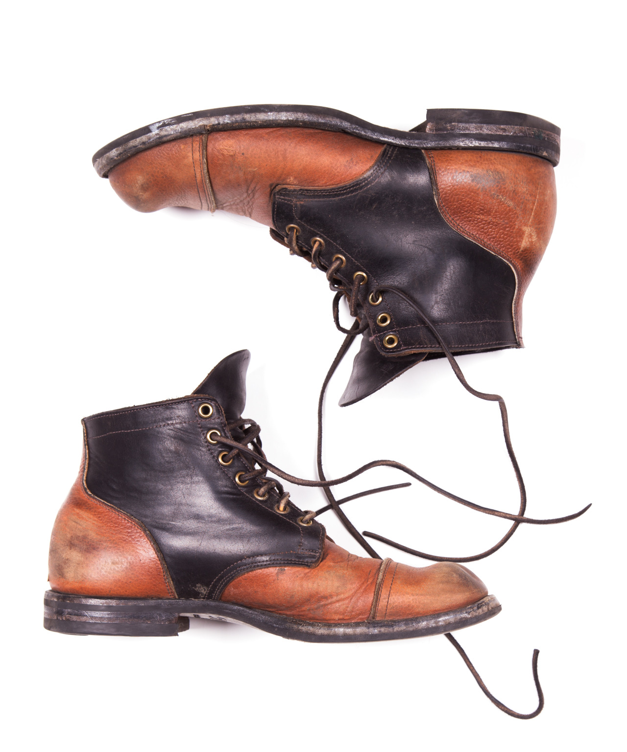 Worn in @VibergBoot x PTC Black and Whiskey Service Boot on the 2045 last.