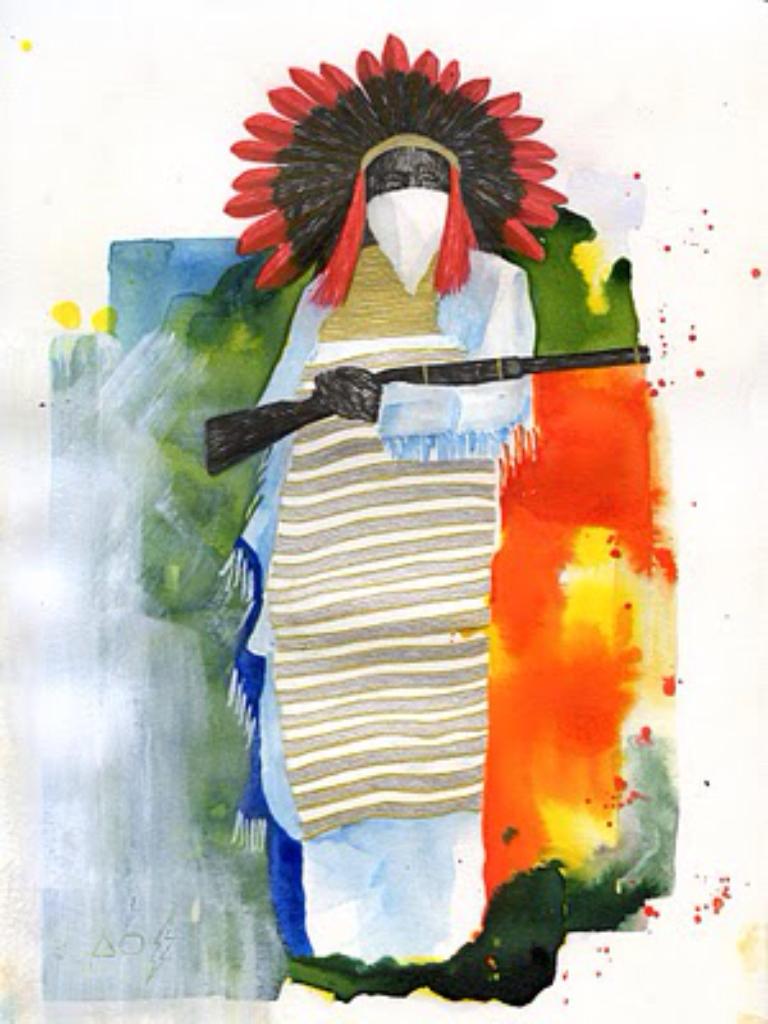 Painting by Felipe Merida