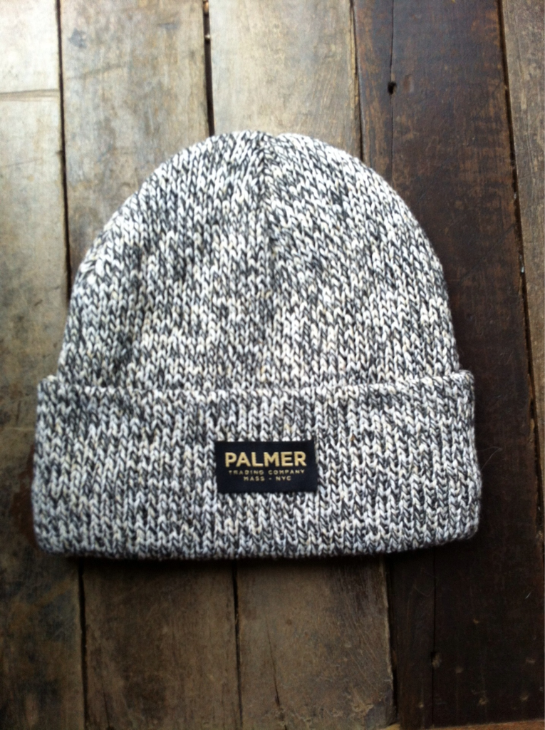 PTC marled wool fisherman's beanie 100% recycled rag wool with acrylic lining made from recycled plastic bottles