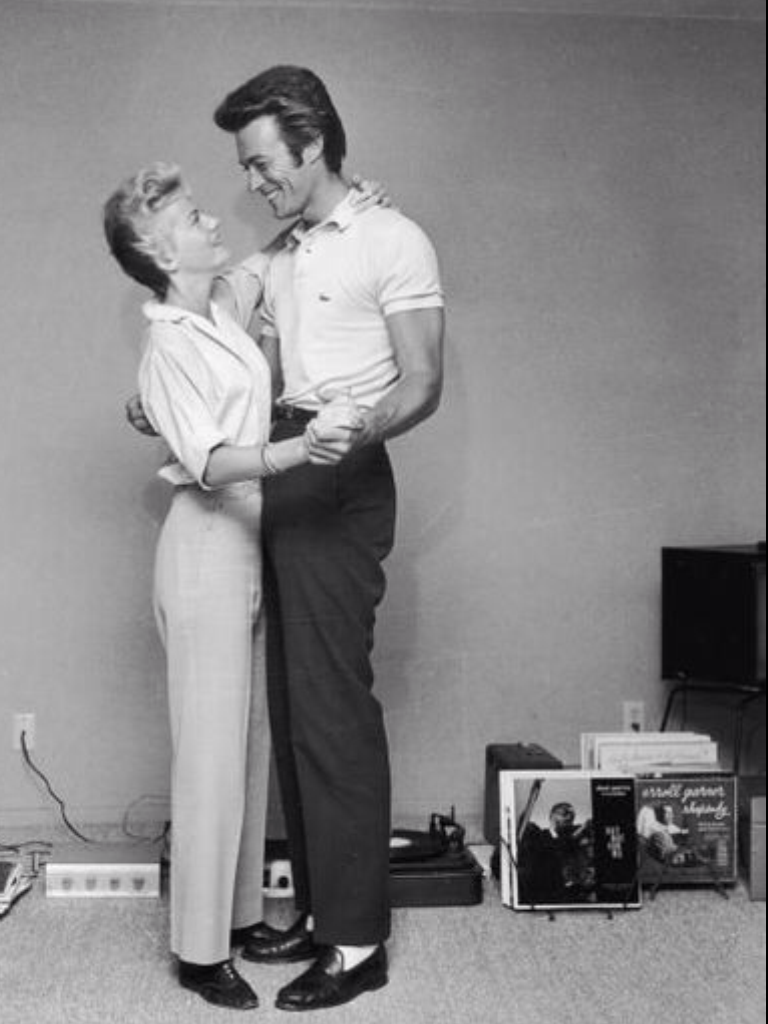 Clint and Maggie Eastwood 1965