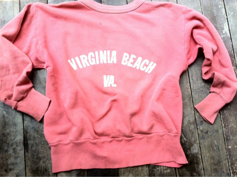 The Summer Sweatshirt Beautiful vintage sweatshirts at PTC. From the very rare and collectable to the just broken in beautifully. No fake washes. Just some water and a little Cheer.