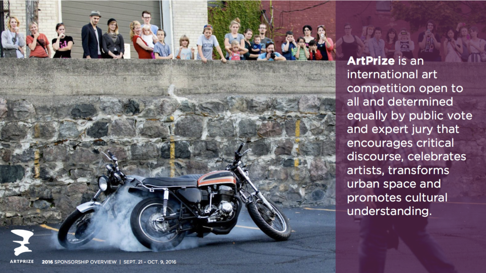 Click for examples of Drew's work used by ArtPrize Corporate Sponsorship.